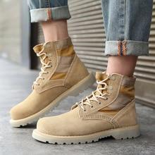 Sunny Everest 2019 women shoes Botas de mujer pareja couple boots desert cloth Retro Military 35-44