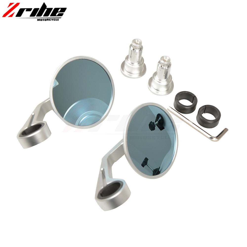 for Universal Motorcycle Aluminium mirror motorbike Rearview side Mirror For Triumph SPEED TRIPLE DAYTONA 675 R 2011-2014