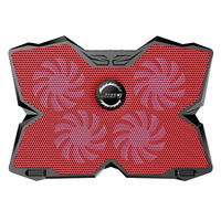 Four Fans USB 2 0 Laptop Cooling Pads Four Fans Cooling Pad Air Cooled Radiator Aluminum