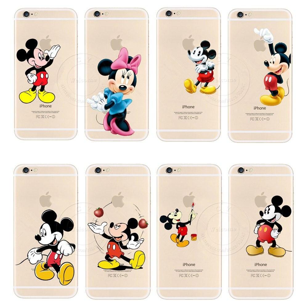 ⑧Nueva moda popular cute Mickey Mouse protector duro caso cubierta ...