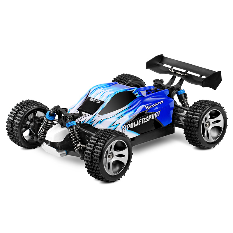 RC Car WLtoys A959 2.4G 1/18 Scale Remote Control Off-road Racing Car High Speed Stunt SUV Toy Gift For Boy RC Mini Car wltoys k929 1 18 2 4ghz 4 channel high speed remote control racing car model toy green
