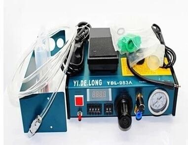 YDL-983A Nouveau Dremel 220 v Auto Colle Distributeur À Braser Liquide Contrôleur Dropper Système De Distribution