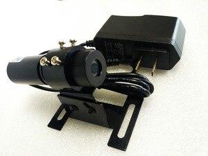 Image 2 - Nova alta potência industrial laser 650nm 300 mw vermelho laser linha localizador módulo 22x70mm com dissipador de calor e livre ue/eua fonte de alimentação