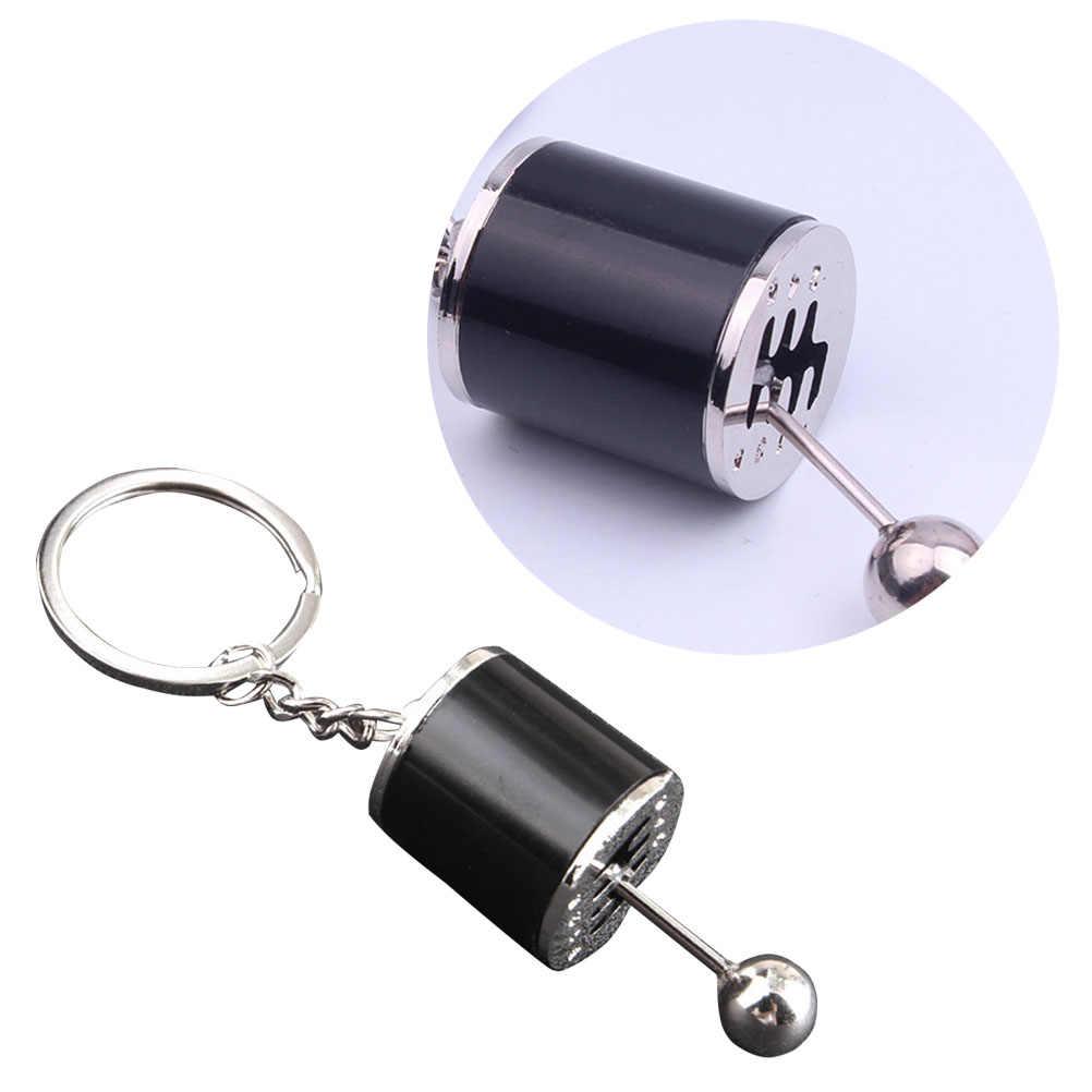 1Pcs Simulation Car Modification Gear Shaped Pendant Keyring Keychain for Handbag Phone Pendant A20