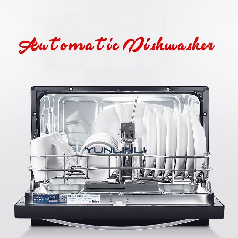 Automatic Dishwasher Household Dish washing Machine Intelligent Embedded Dish Cleaner Commercial Dish Cleaning Machine m mini portable intelligent dishwasher sterilization disinfection dryer automatic embedded free standing dish washer machine