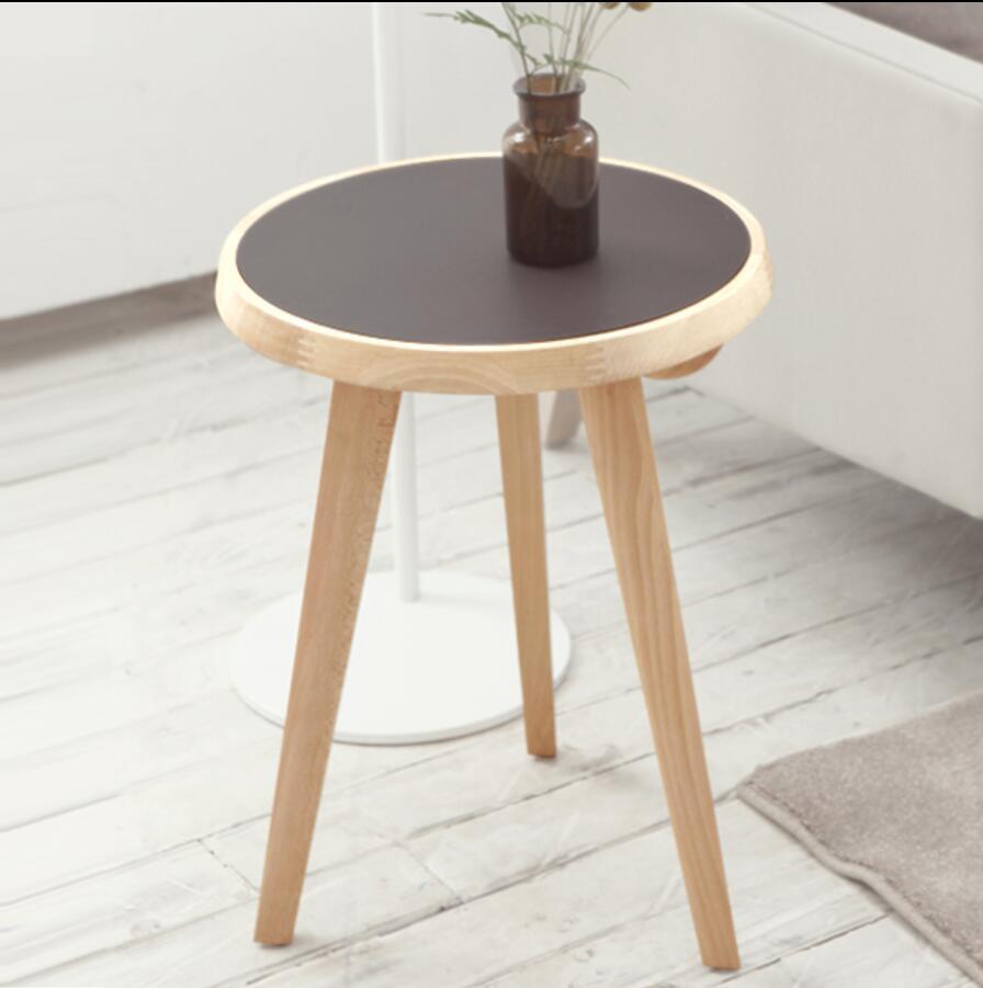 Designer Nordic sofa seite ein paar ecke ein paar runde tische ...