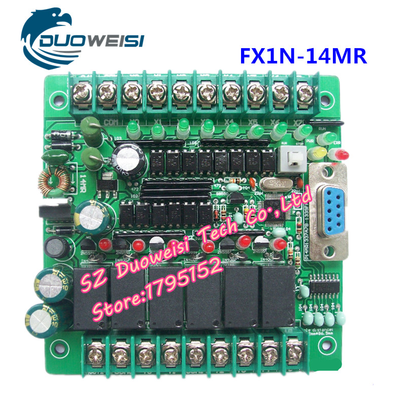 PLC IPC board microcontroller control board relay control board PLC FX1N-14MR FX1N 14MR fx1n 14mt es ul