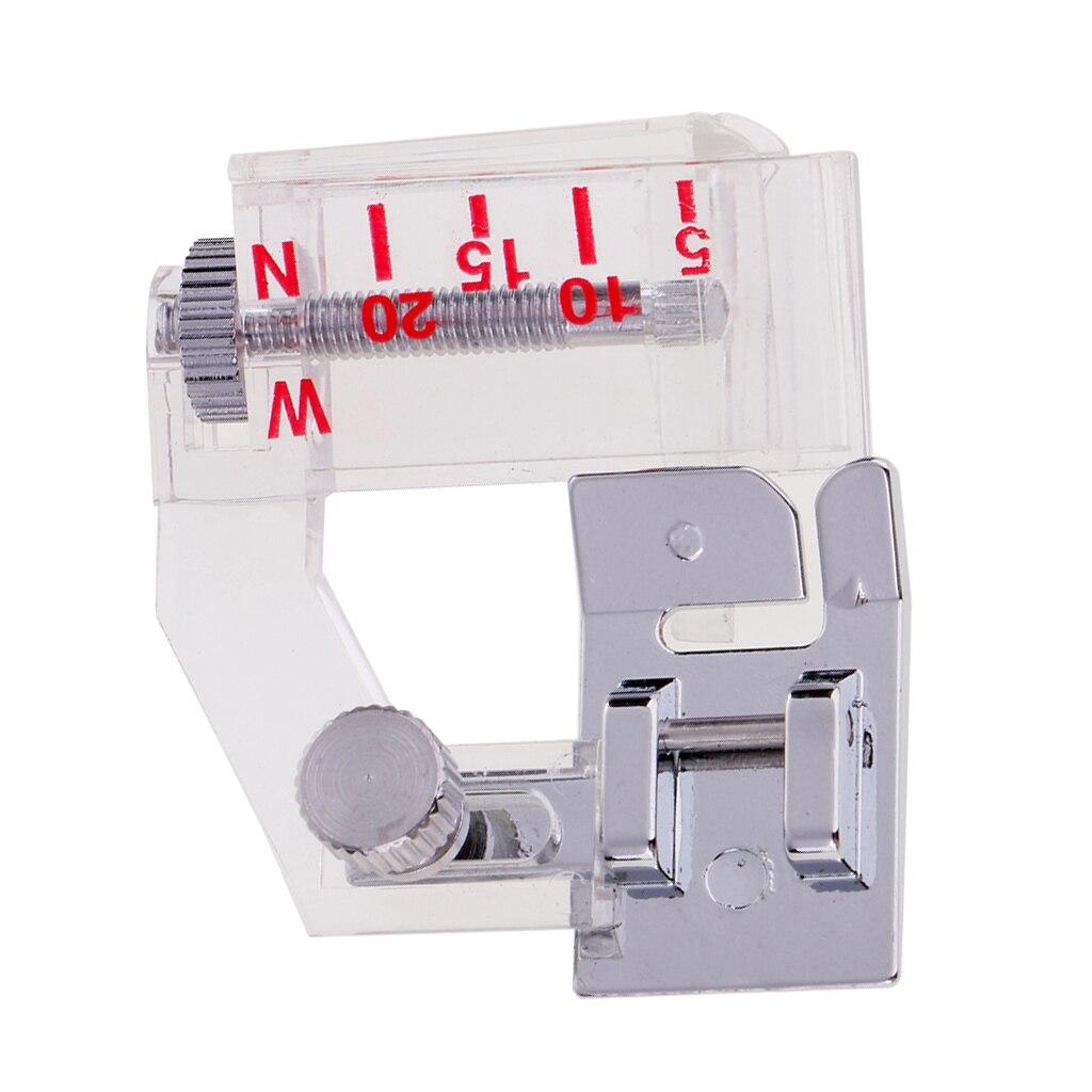 Adjustable Binding Foot Bias Binder Presser Foot For Low