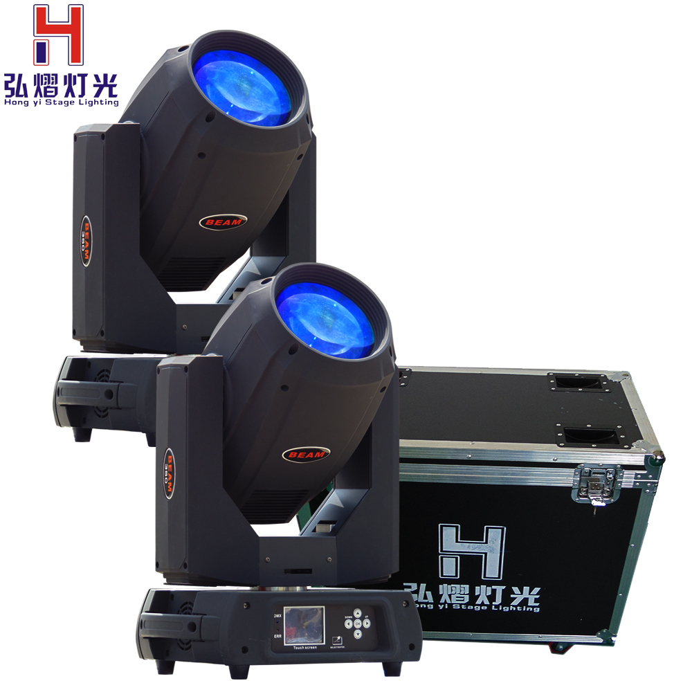 Professional stage sharpy 350 17r beam spot wash 350w moving head light dj equipment with fly case