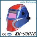 2016 venta caliente de oscurecimiento automático máscara de soldadura eléctrica/casco/cap soldador para soldar equipo máquina mascara de solda automatica