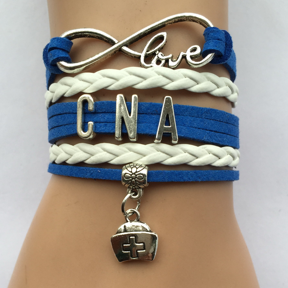 Drop shipping infinity love cna nurse charm bracelet for Drop shipping jewelry business