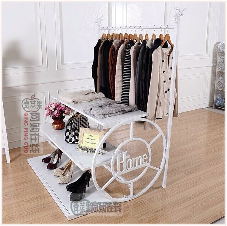 The Clothing Racks Display Shelf Console Wrought Iron Clothes Rack In Storage Holders From Home Garden On Aliexpress Alibaba Group