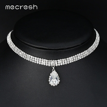3 Row Thick Rhinestone Choker Necklace