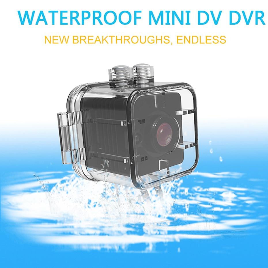 Wireless SQ12 Mini Camera HD 1080P Night Vision Camcorder Car DVR Infrared Video Recorder Sport Digital Outdoor DV Micro Camera