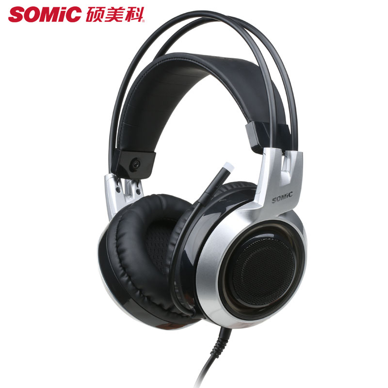 SOMIC G951 PS4 Headset USB Gaming Stereo Headphones with Microphone LED light Gamer Big Earphones Computer Stereo Game Earbuds 2016 somic g291 ecouteur earphones and headphone quality somic gaming headset hifi headset monitor headphones earphone with mic