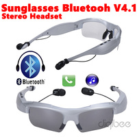 New Noise Cancelling Sport Wireless Sunglasses Headset V4.1 Bluetooth Earphone For iPhone 4 5 5s 6 6s 7 Plus Samsung Galaxy Note