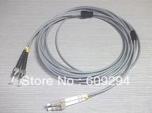 5 unids/lote Blindado cable de puente de fibra óptica multimodo 62.5/125 fibra óptica patch cord 3mm 3 Metros