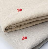 1 Meter 150 cm Chiều Rộng Vải Lanh Tự Nhiên Cotton cho May Craft Bảng Rèm Vải Chắp Vá Scrapbook Tay Nội Thất Thủ Công DIY