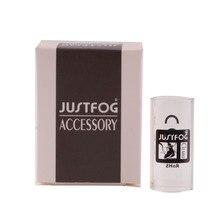 10pcs original justfog Q14 Pyrex glass tube for justfog Q14 kit Q14 tank Vape pen Hookah Vaporizer E-Cigarettes glass tube