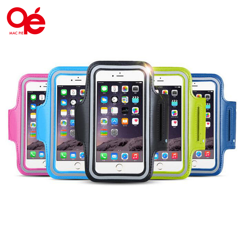 Waterproof Workout Brush Cover Gym Case for iPhone 5 5S SE 5C 6 6s Holder Key Slot Casual Sport Accessories Arm Band for iphone5