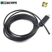 Antscope 2 м 6LED 7 мм USB эндоскопа Камера USB бороскоп змея инспекции мини usb эндоскопическая для компьютера