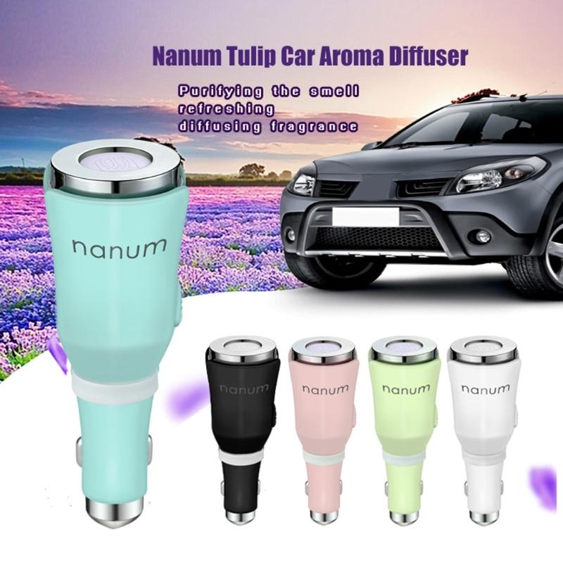 Portable Car Aroma Diffuser Aromatherapy Release Machine USB Output aromatherapy aroma mix