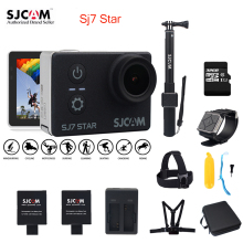 Original SJCAM SJ7 STAR Wifi 4k GYRO Touch Screen Ambarella A12S75 30M Waterproof Remote Sports Action Camera Car Mini DVR