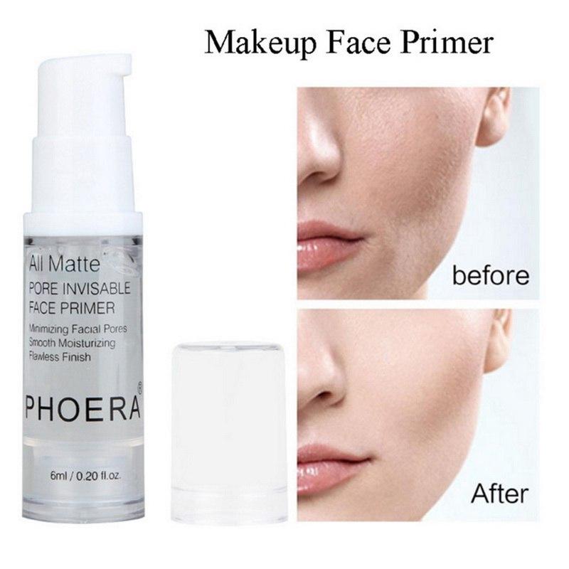Professional Face Primer Cream Liquid Matte Make Up