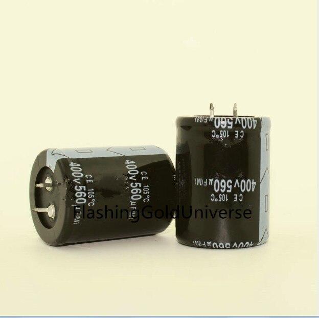 1pcs 120uf 400v Radial Electrolytic Capacitors 400v120uf