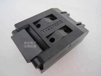 Clamshell IC51-1324-828 TQFP132/QFP132 YAMAICHI IC Burning seat Adapter testing seat Test Socket test bench in stock