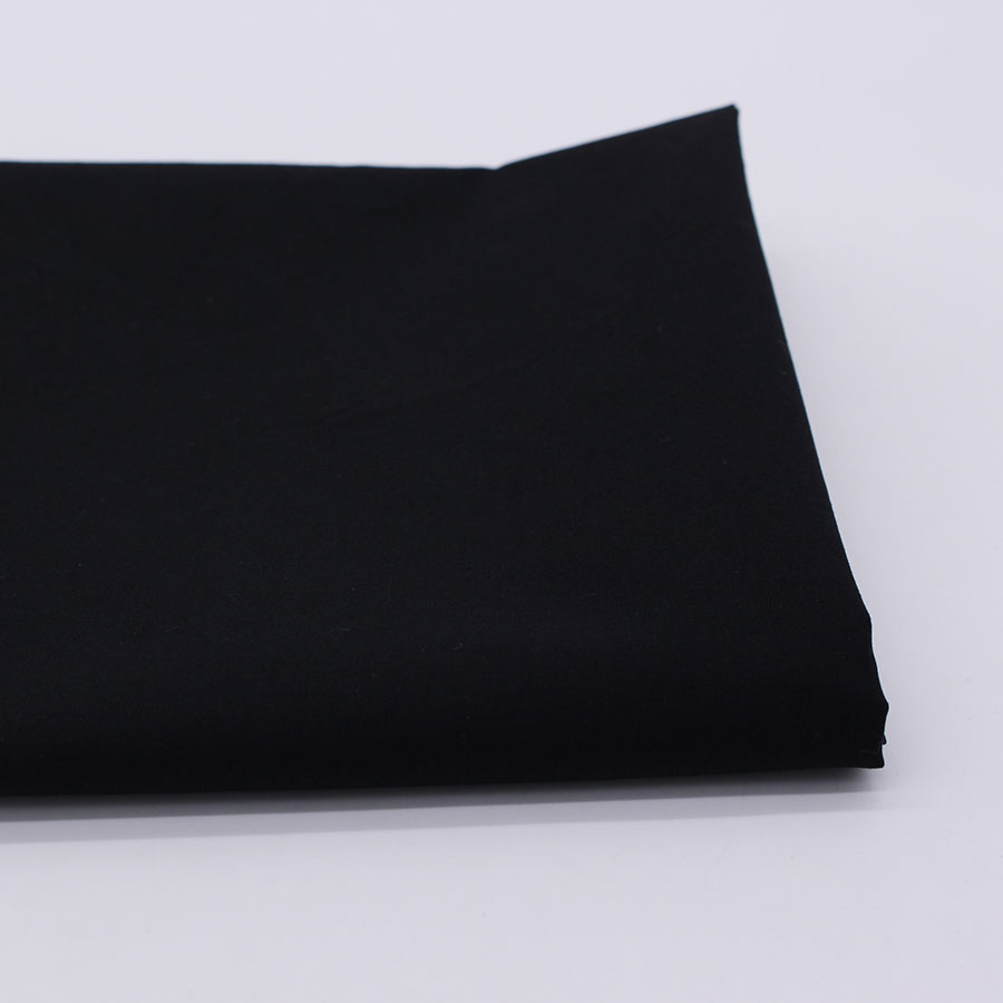 Καθαρό μαύρο βαμβακερό ύφασμα για - Τέχνες, βιοτεχνίες και ράψιμο - Φωτογραφία 2