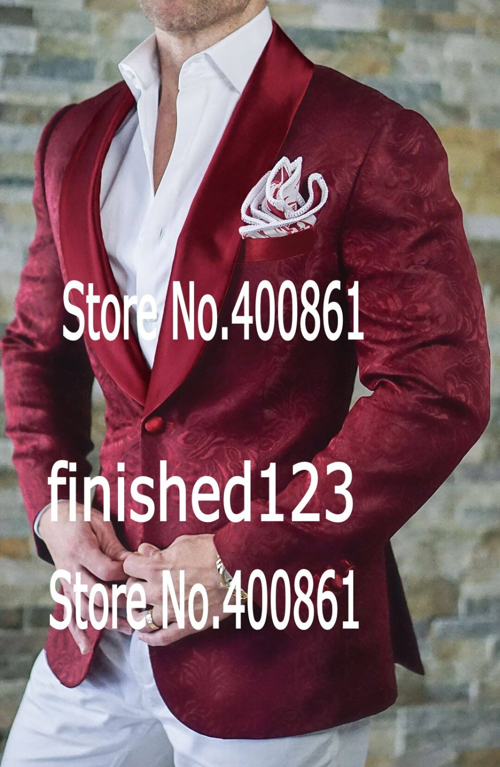 jacket+pants+bow Tie W:70 New Arrivals Royal Blue Mens Suits Groom Tuxedos Groomsmen Wedding Party Dinner Best Man Suits