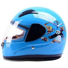 ЙЕМА 2015 дети шлем подходит 48-55 см голову ABS оболочки безопасности мотоциклов шлем