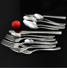 0 Thickening stainless steel steak knife and fork spoon fruit fork coffee spoon set western cutlery