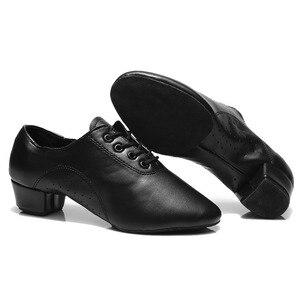 Image 5 - New Brand Men Latin Dance Shoes Ballroom Jazz Tango Sneaker Dance Shoes Men Shoes Man dancing For Boy Dance Sneaker EU30 45