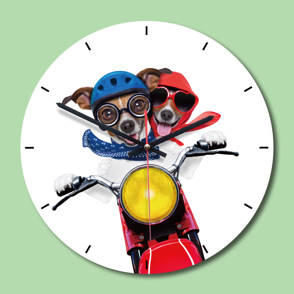 M Sparkling Wall Clocks Battery Operated Decorative