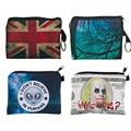 High Quality Girl printing coins change purse Clutch zipper zero wallet phone key bags Women Bag Women wallet