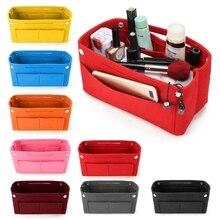 THINKTHENDO 1PC Multifunction Handbag Cosmetic Organizer Pur