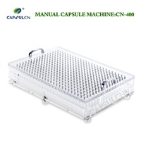 400 Holes Capsule Filler Capsule Filling Machine CN 400 Size 4 With Perfect Precision Suitable