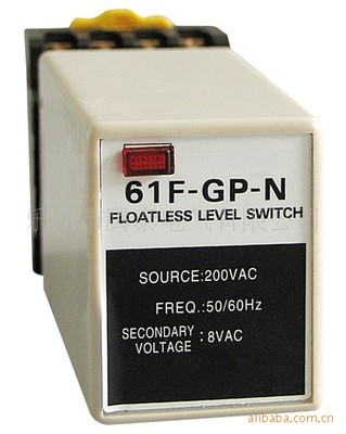 цена на AC220V 61F-GP-N level relay 61F-GP water level controller switch pump automatically switches with base