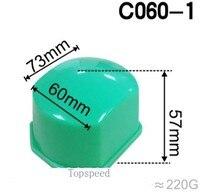Cabezal de goma de silicona de 73x60mm para impresora de almohadilla base de madera