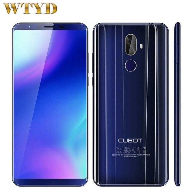 Cubot X18 Plus Android 8,0 18:9 FHD + 4 Гб ПЗУ 64 Гб 5,99 дюйма MT6750T восьмиядерный смартфон 6MP 13MP Dual SIM 4G мобильный телефон