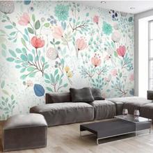 3D Floral Wallpaper Mural Fresh Small Flowers Wall Murals Wall