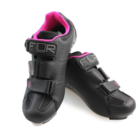 FLR F 15 lock shoes road bike mountain bike riding shoes breathable anti skid lock shoes Shoes + pedal Cycling Equipment