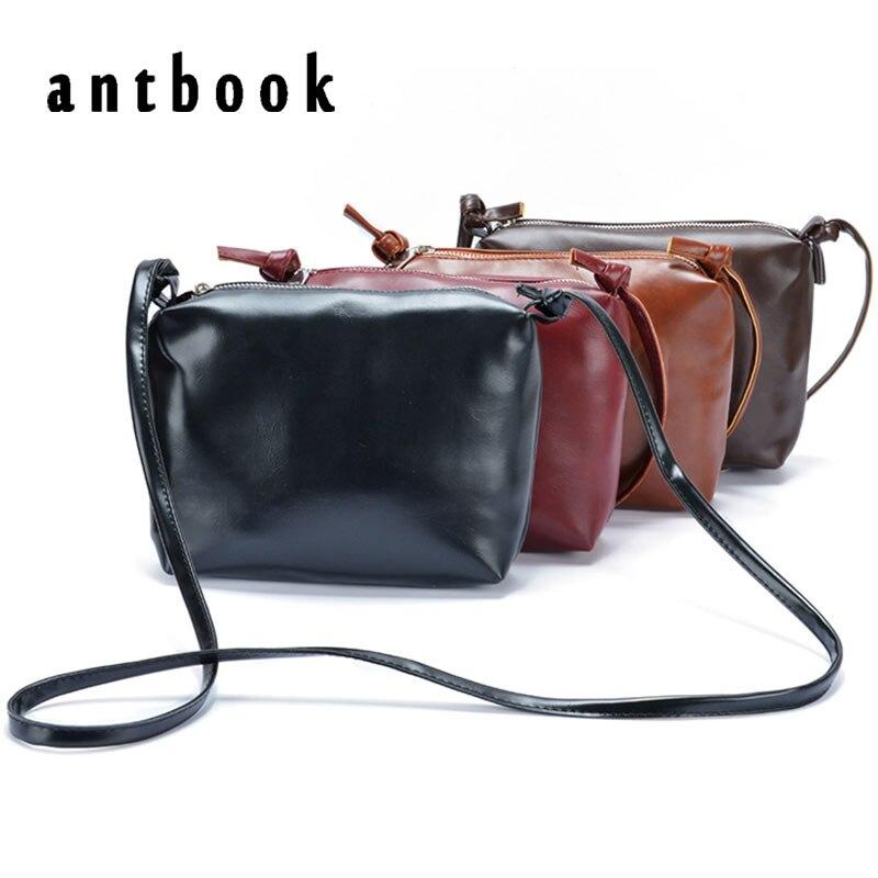 fb2c493fe859 Лидер продаж! Новая мода Повседневная летняя обувь женщин маленькая сумка  винтажные Мини масло кожа Сумка 4 вида цветов женская сумка