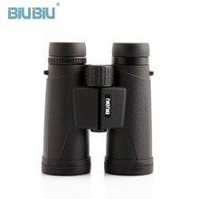 BIUBIU 10X42 Binoculars Folding for Outdoor BirdWatching Travelling Hunting Camping telescope professional zoom optical powerful