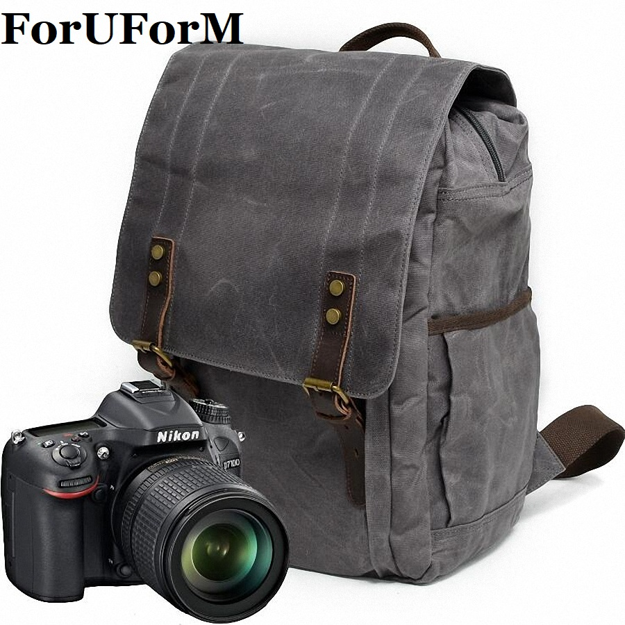 Waterproof Digital DSLR Camera Backpack 14 Laptop Multi-functional Camera Soft Bag Video Case For Canon/Nikon Camera LI-1964 caden m5 camera bag backpack waterproof canvas gray photo video carry case digital camera case for dslr canon nikon