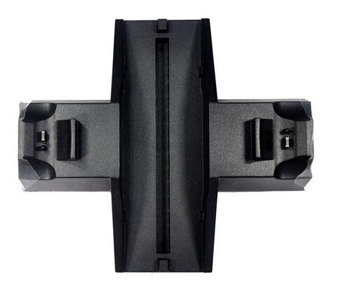 Consola de mando inalámbrico dual charging dock stand con ventilador para playstation 4 ps4 para ventilador de carga dual del muelle