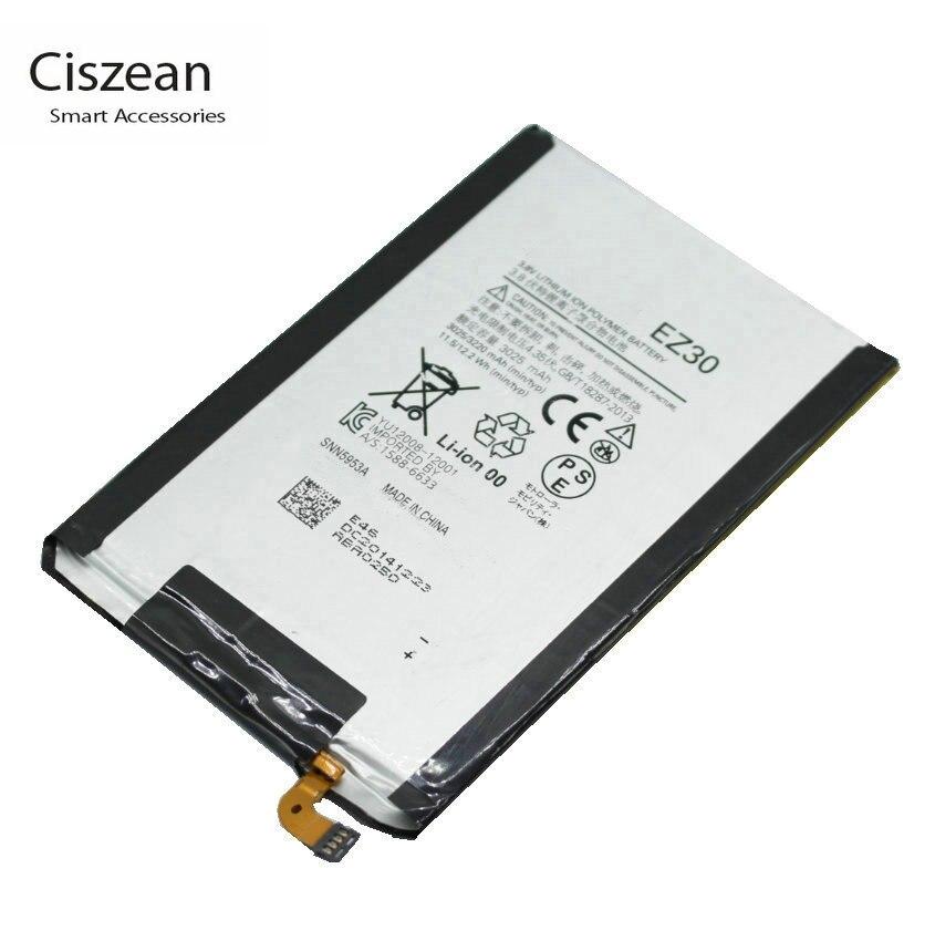 US $8 99 |Ciszean 1x EZ30 3220mAh /12 2Wh Replacement Battery For Motorola  Nexus 6 Google XT1115 XT1110 xt1103 nexus6 Batteries-in Mobile Phone