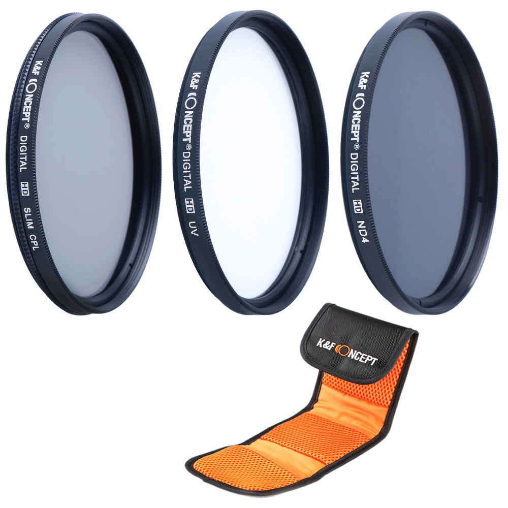 Neewer 52MM Professional Lens Filter and Close-up Macro Accessory Kit for NIKON D7100 D7000 D5300 D5200 D5100 D5000 D3300 D3200 D3100 D3000 D90 D80 DSLR Cameras- Includes Filter Kit + Macro Close-Up Set + Filter Carrying Pou UV, CPL, FLD +1, +2, +4, +10